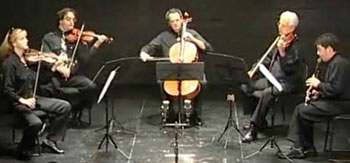 2nd mov. Larghetto, Yevgeny Yehudin   Clarinet, Dafna String Quartet